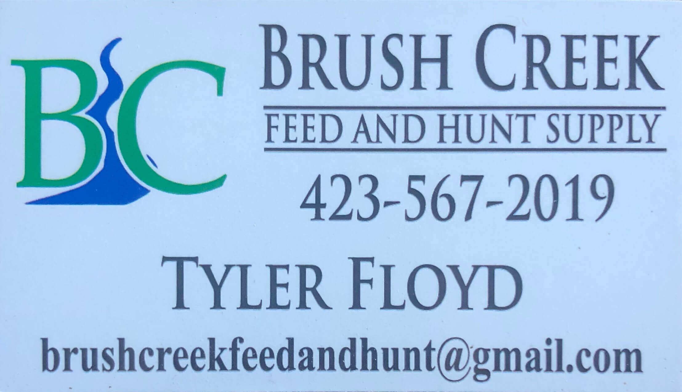 Brush Creek Feed and Hunt Supply