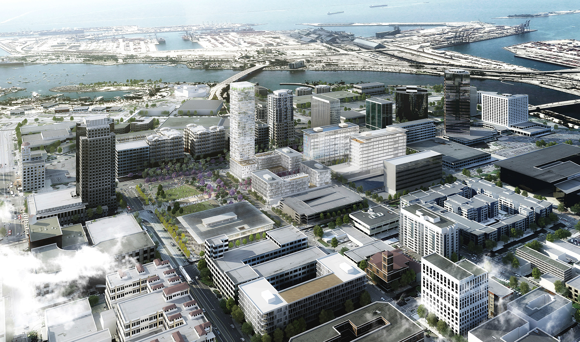 Plenary-Edgemoor Civic Partners has been tapped to develop a new Civic Center through a public-private partnership blending residential units, retail shops, restaurants and a hotel with government facilities in shared space.