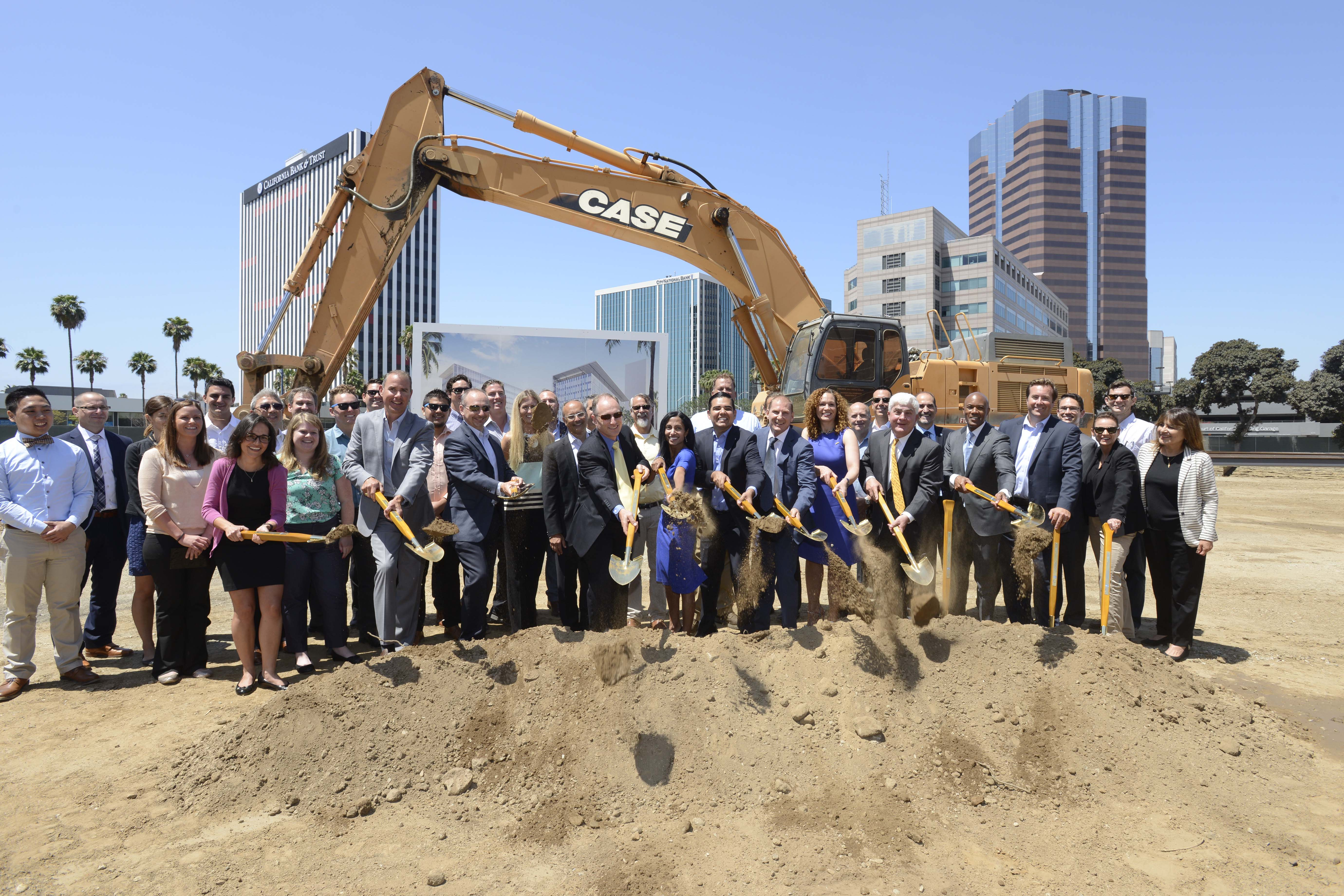 Groundbreaking at new Long Beach Civic Center site ushers in new era for downtown Long Beach.