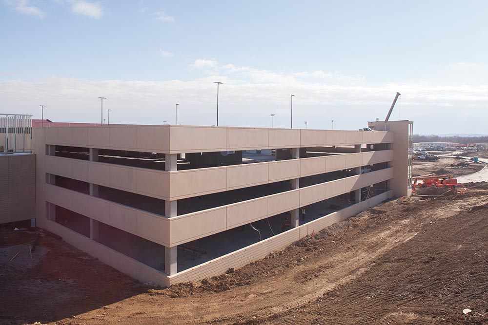 Highly Anticipated Central District Parking Garage Completed Six Weeks Early