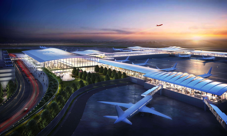 A world-class airport for a world-class city