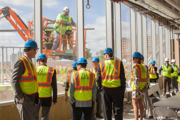 The new Integrated Science Building (ISB) will be a place for teaching, collaboration, and state-of-the-art research.