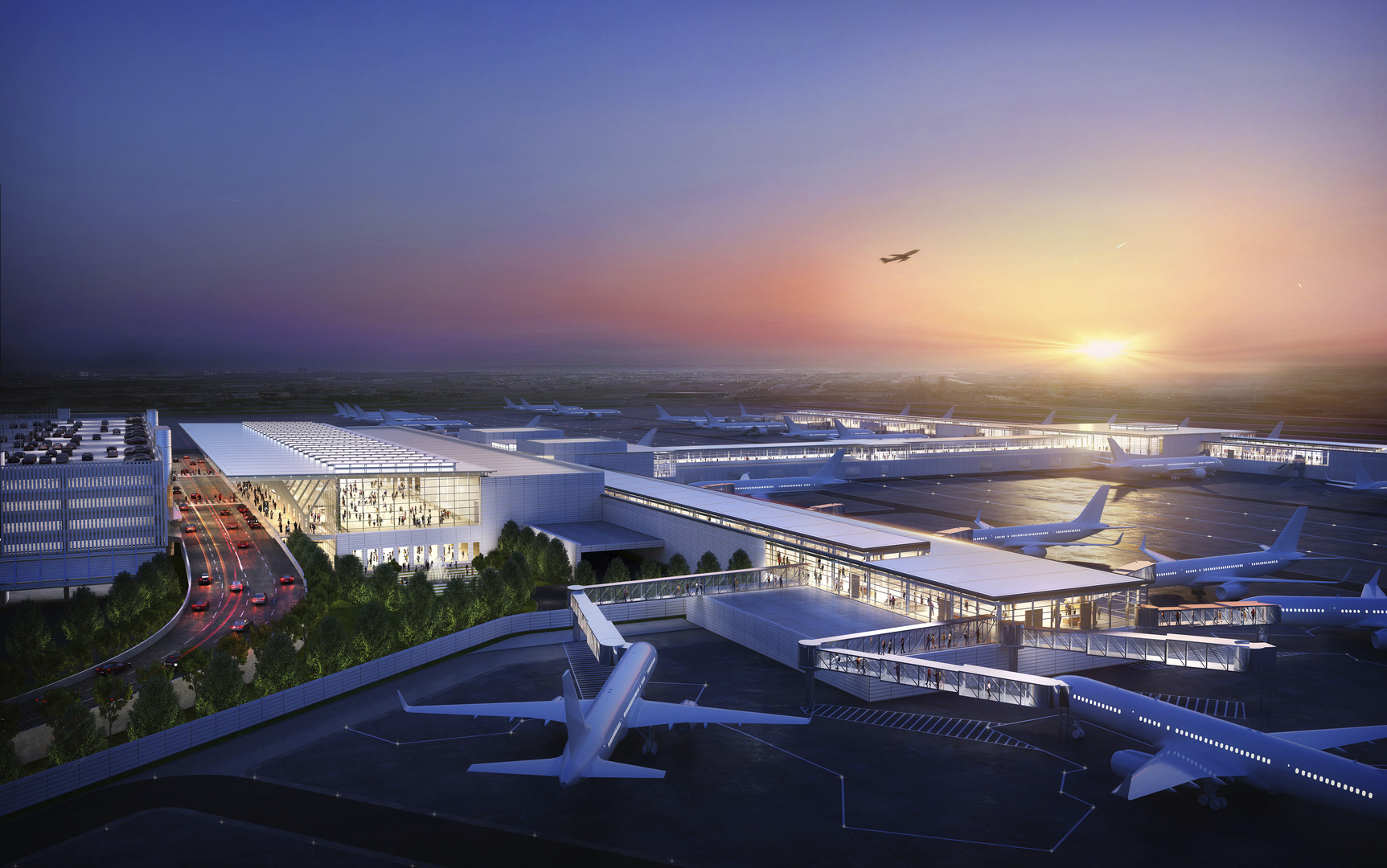 Kansas City International Airport New Terminal Modernization