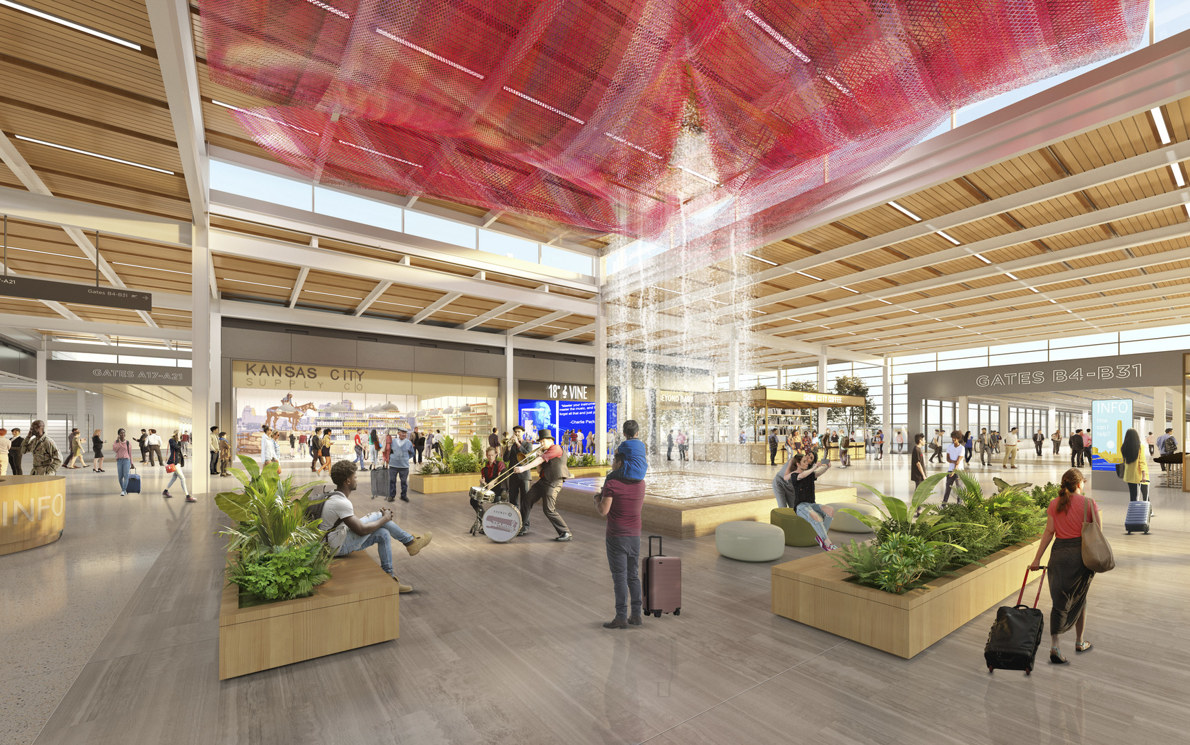 The recent progress on the KCI New Terminal project can be found in the Q4 2019 New Terminal Project Update