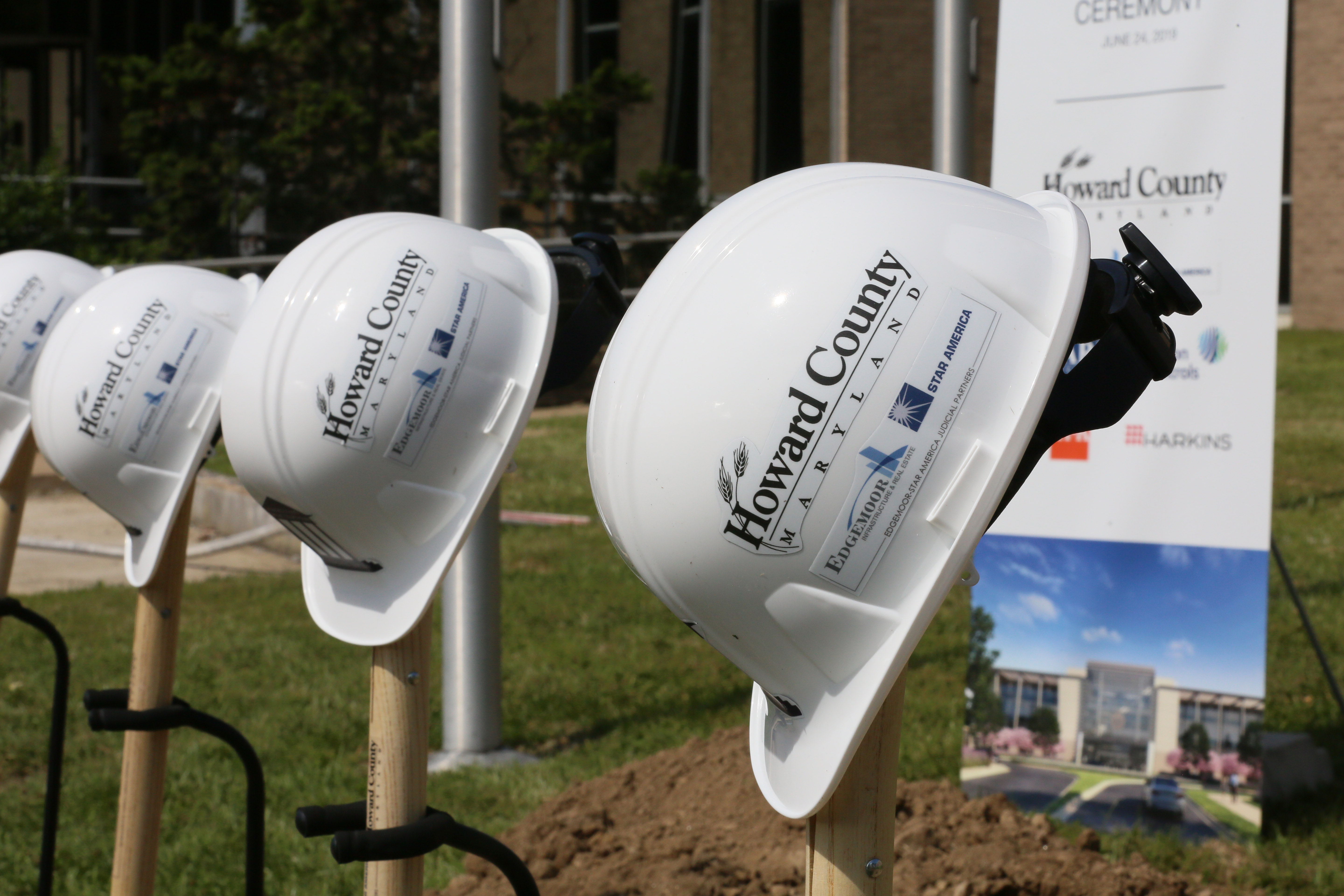 On June 24, 2019, Edgemoor-Star America Judicial Partners broke ground on the public-private partnership (P3) with Howard County to develop and operate a new circuit courthouse for the County...