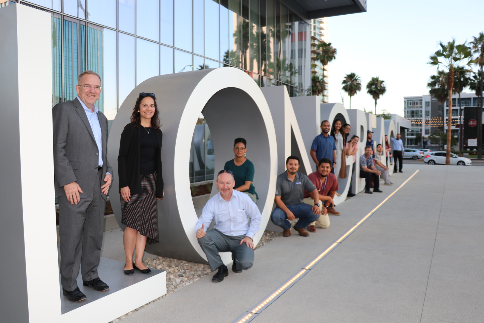 On July 29th, the Plenary-Edgemoor Civic Partners team celebrated the completion of the Long Beach Civic Center with a grand opening to cut the ribbon and unveil the new buildings to the public.