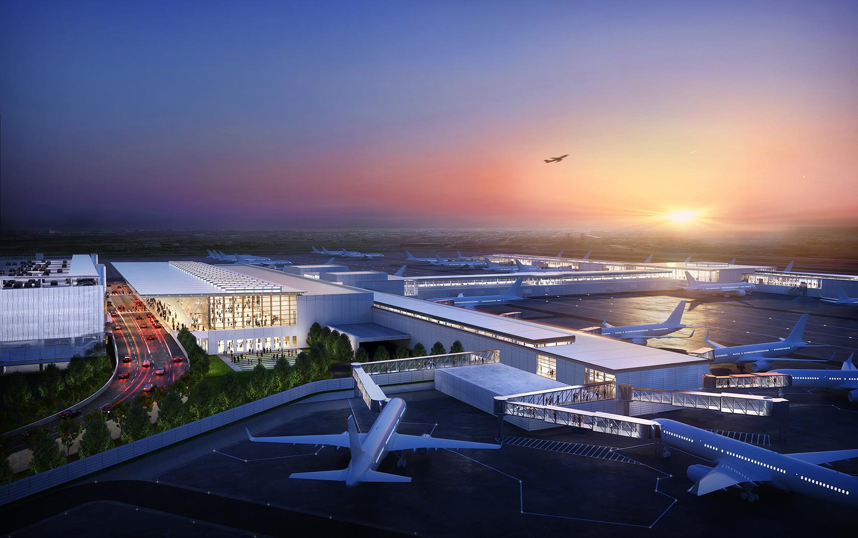 Kansas City International Airport New Terminal Modernization