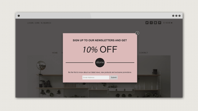Shopify Pop-up Window App