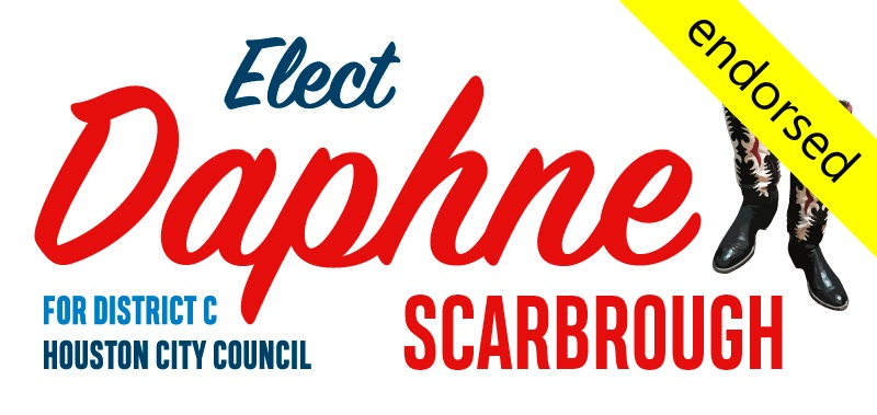Daphne Scarbrough has been endorsed by the Honorable Martha Wong and the Honorable Louis Macey