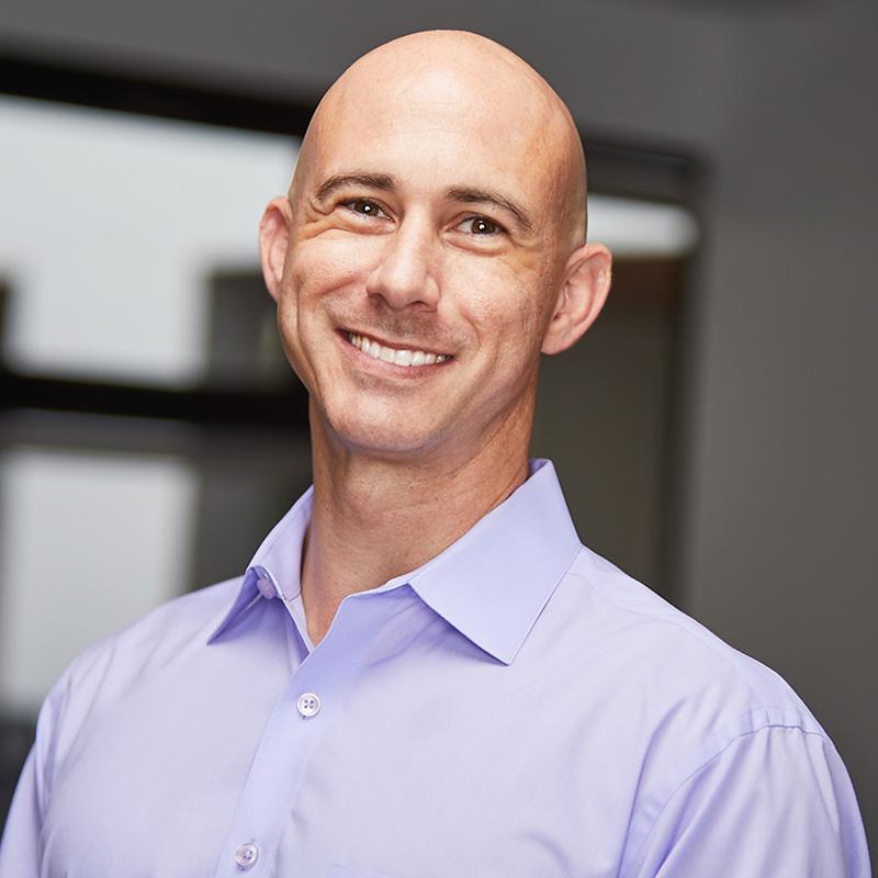 Justin Saltzman, controller, finance