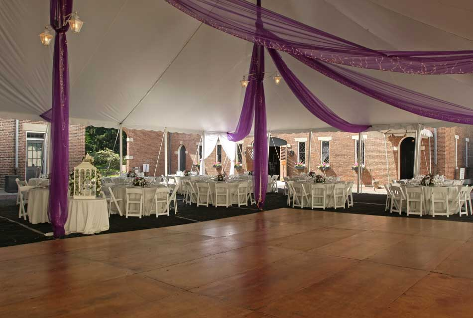 dance floor & stage rental