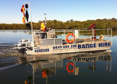 Mooring barge