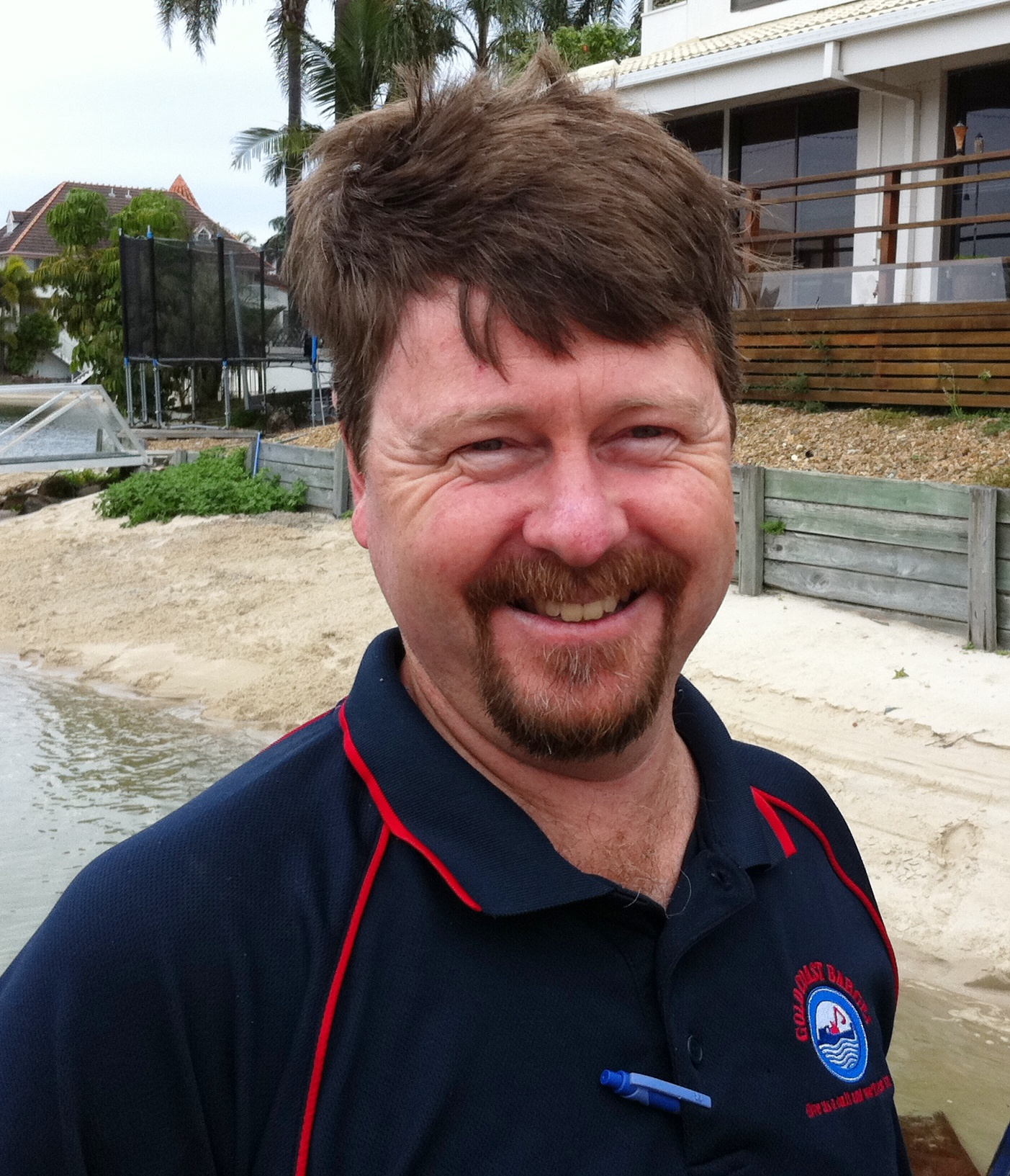 Greg Sweetman - Gold Coast Barges Owner