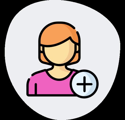 Kind Create Account Icon