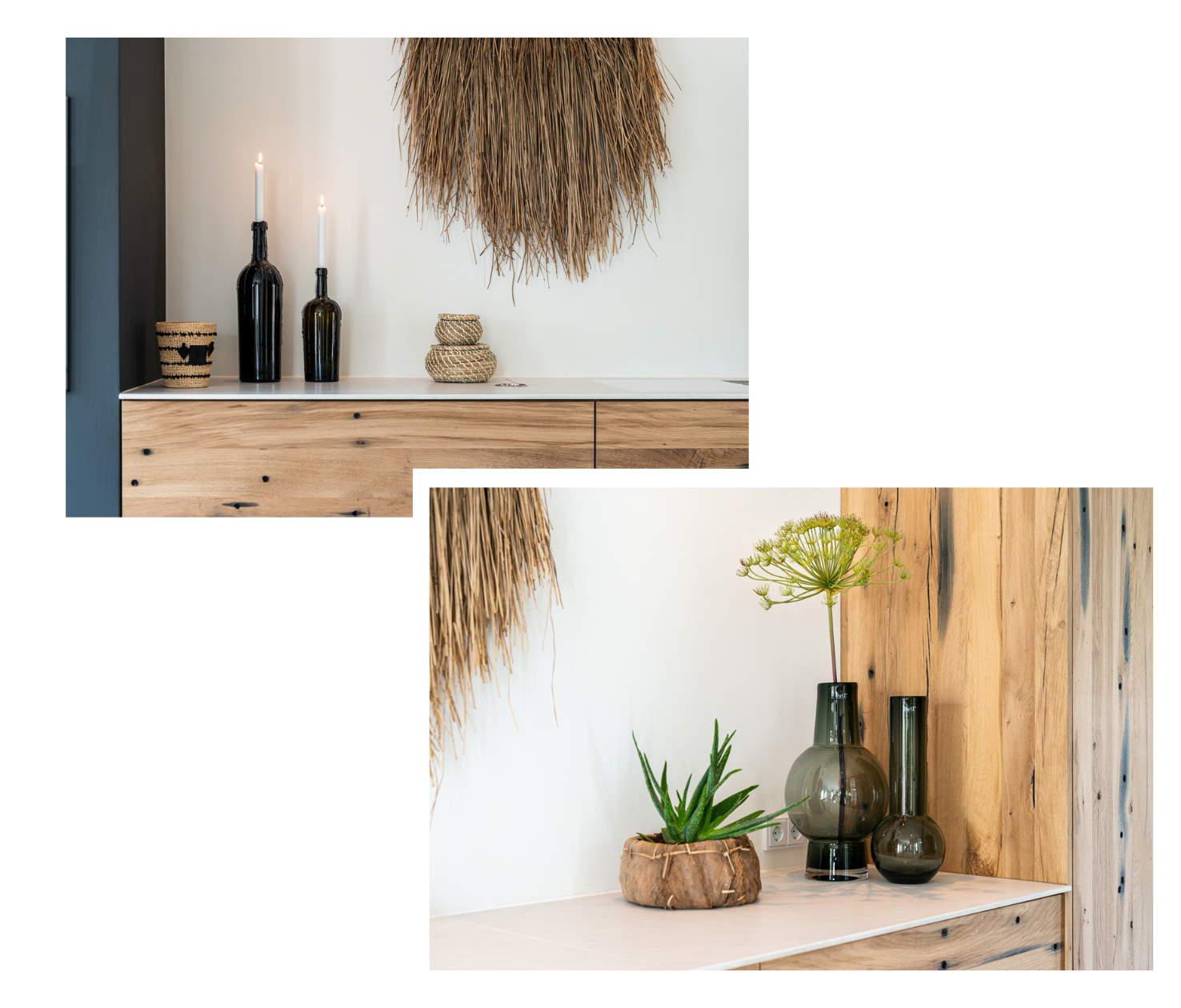 Zwevendekeuken in Noordwijk gerealiseerd door Boudewijn Hosmus -