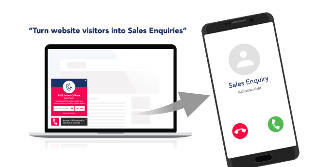 Call Now is quick to install and improves the engagement with website visitors by up to 75%!