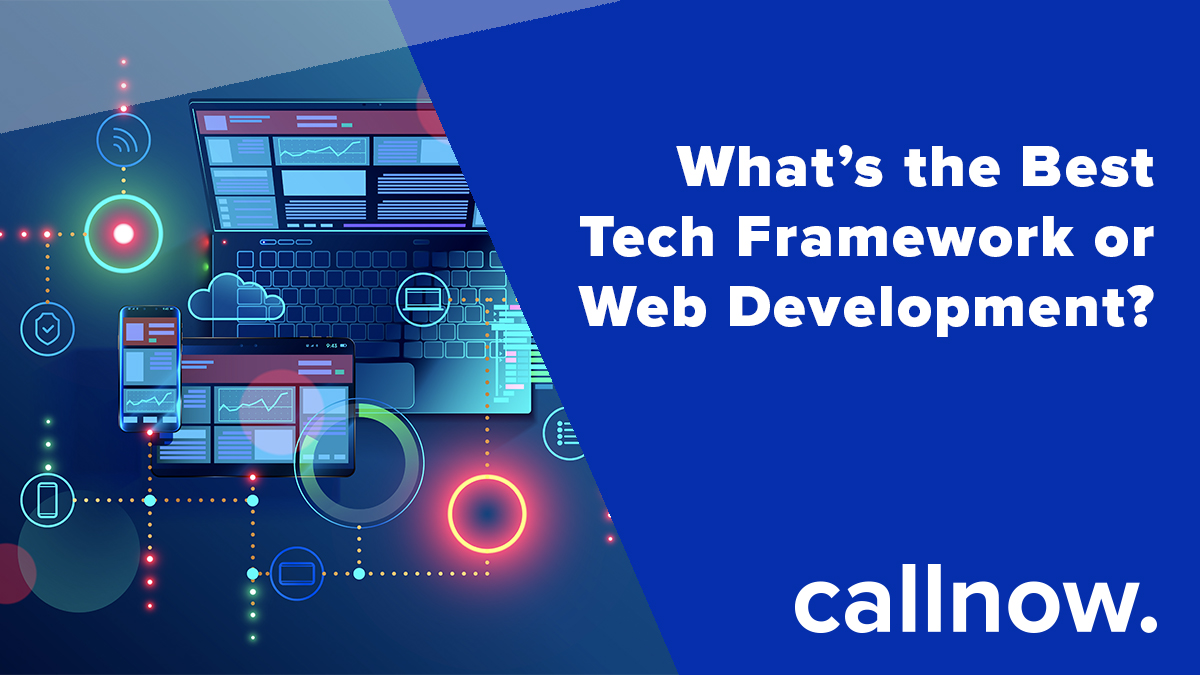 Web frameworks are what developers use to make sure that they can fulfil the brief