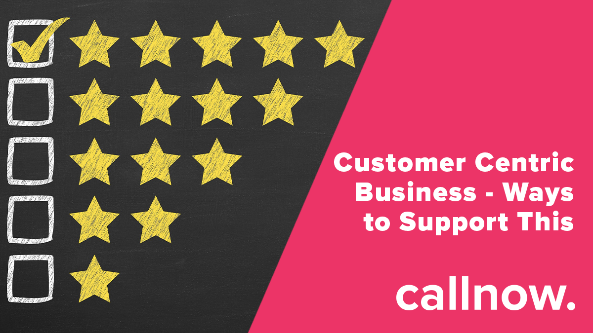 Putting the customer at the centre of the organisation will be prevalent in making a successful business