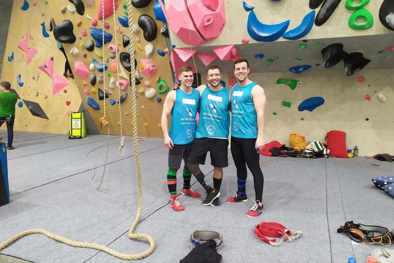 Rope Climb Challenge