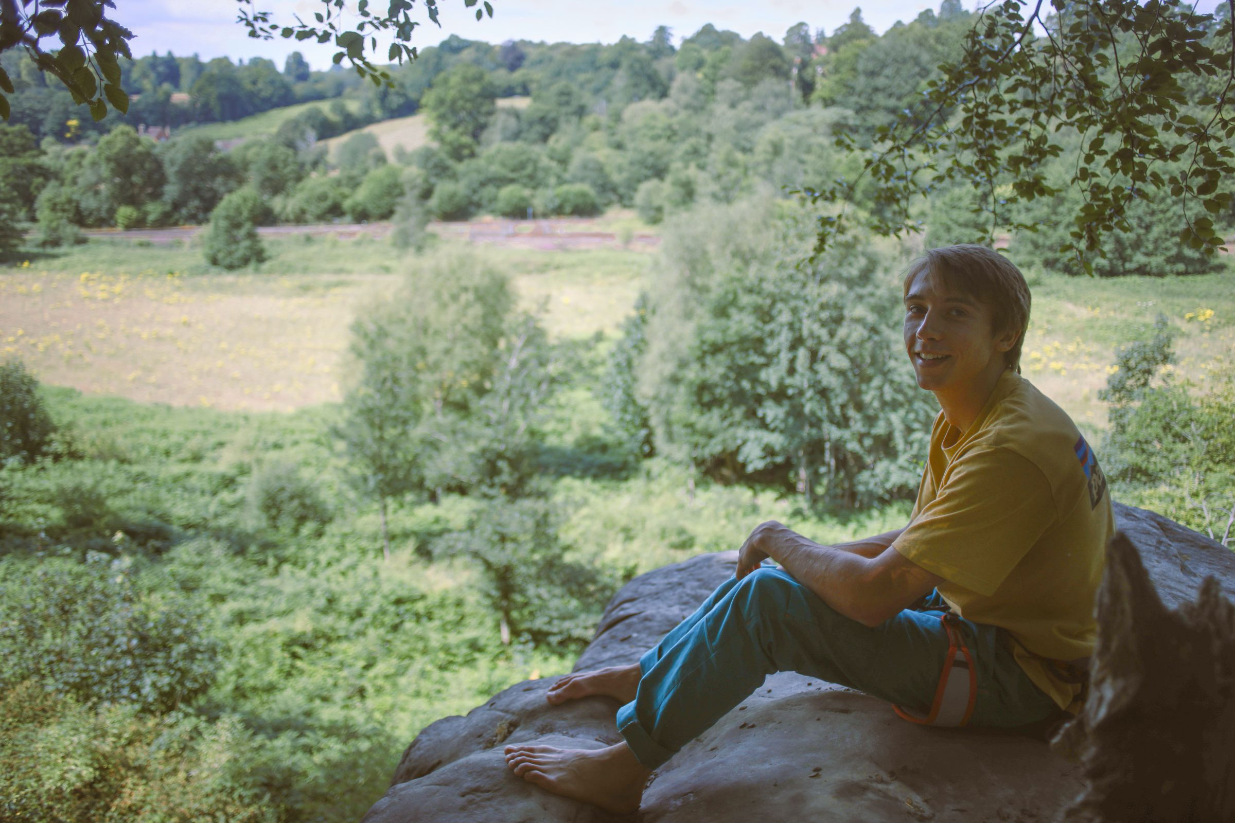 Sandstone, soloing and sore feet - An interview with Sam Taylor