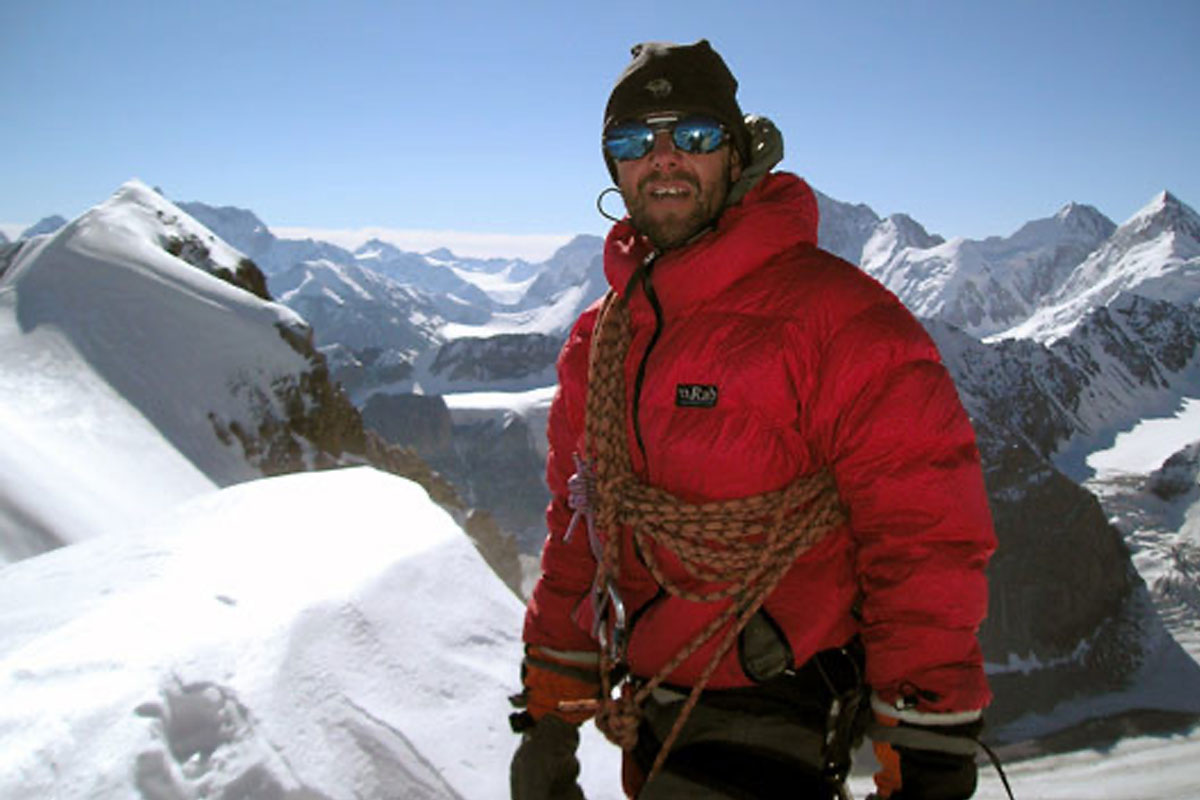 An interview with Stuart Howard about Ice screws, crampons and dubious first ascents climbing