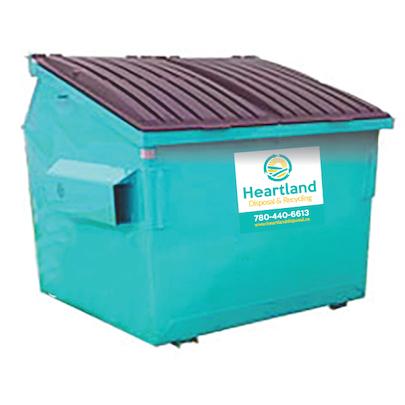 Heartland Disposal front load bins