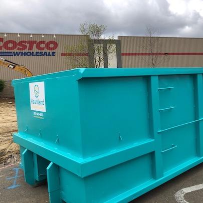 Heartland Disposal Roll-off bins