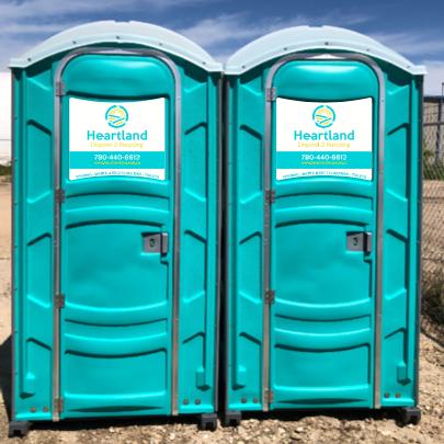 Heartland Disposal portable toilets