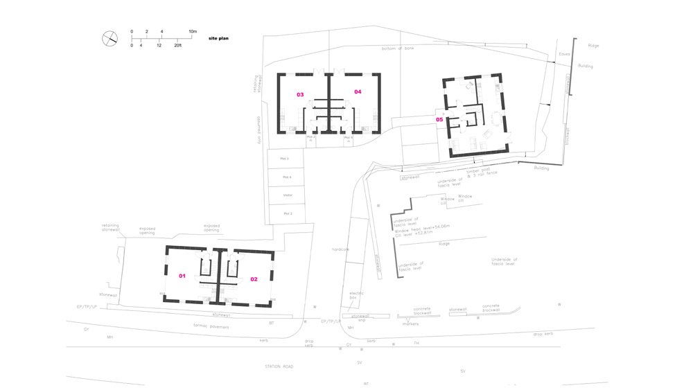 Lifton site plan