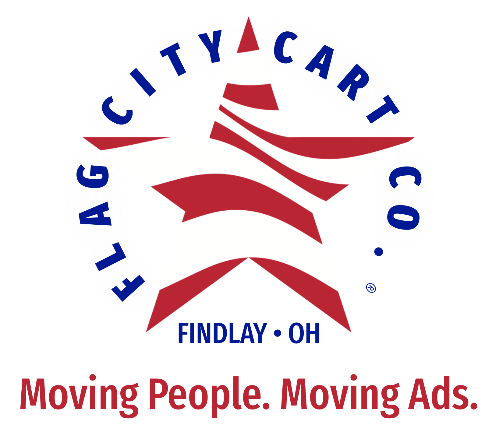 Flag City Cart Co. Logo