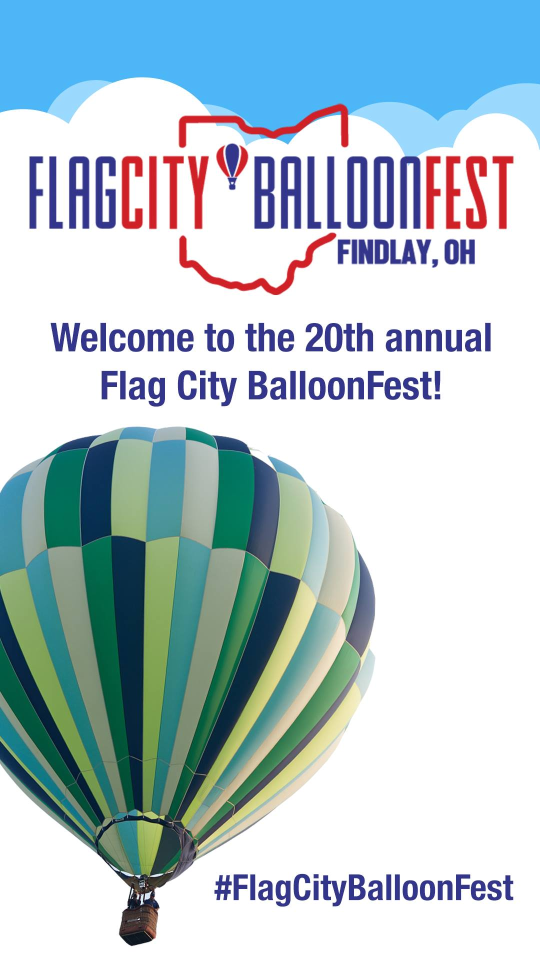 BalloonFest Welcome Ad
