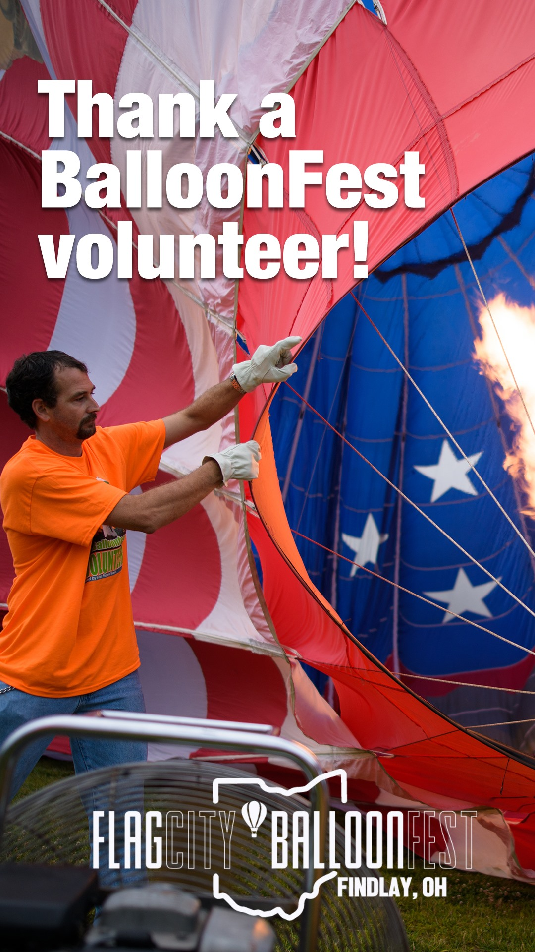 BalloonFest Volunteer Ad