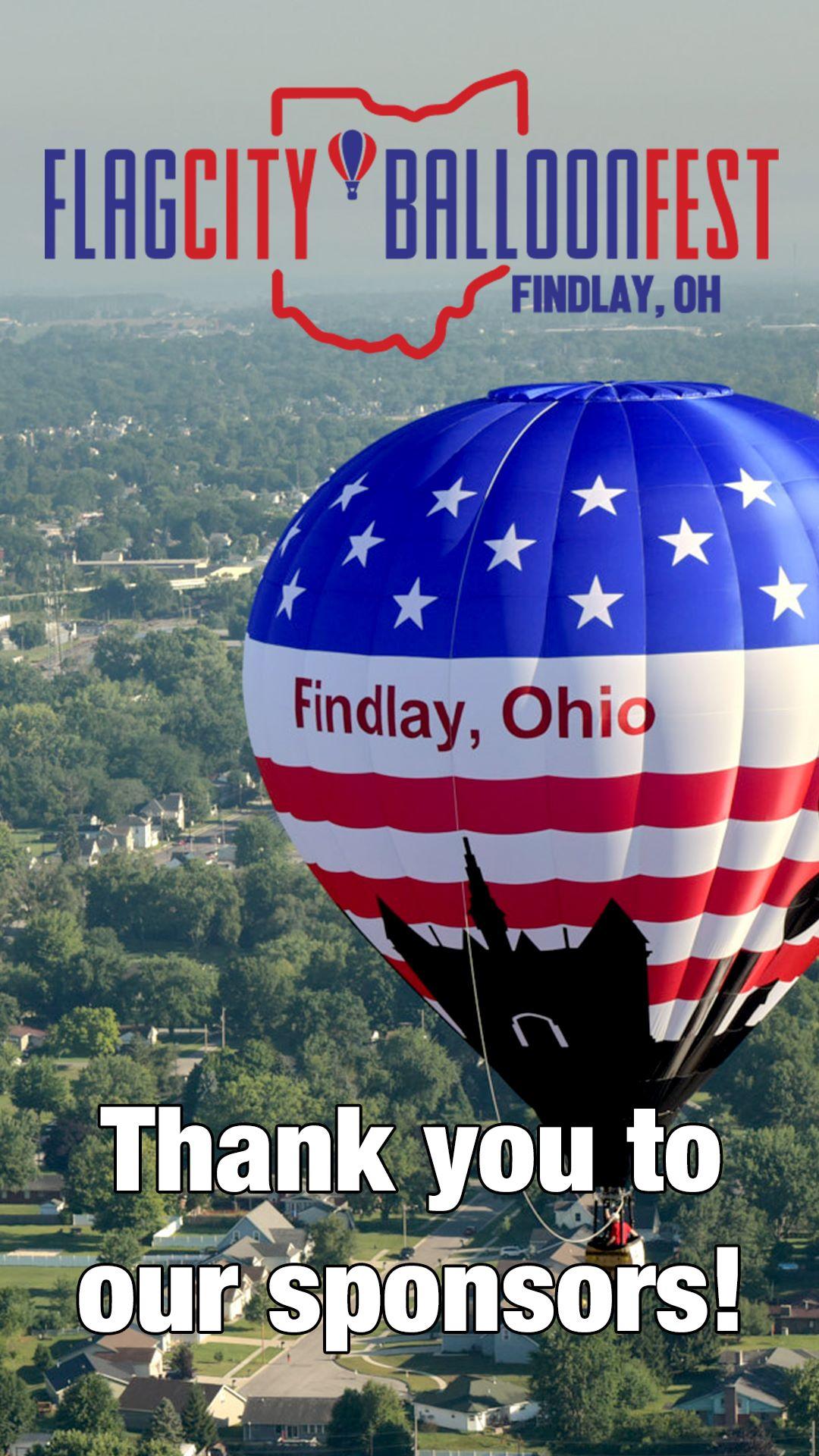BalloonFest Sponsors Ad