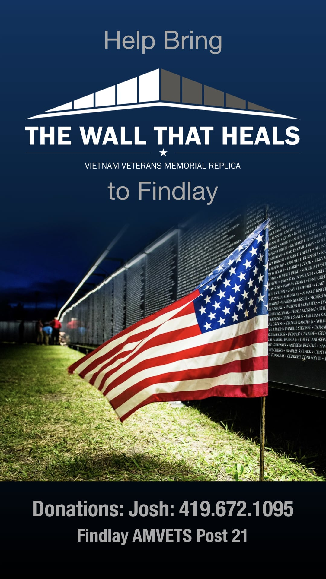 The Wall That Heals Ad