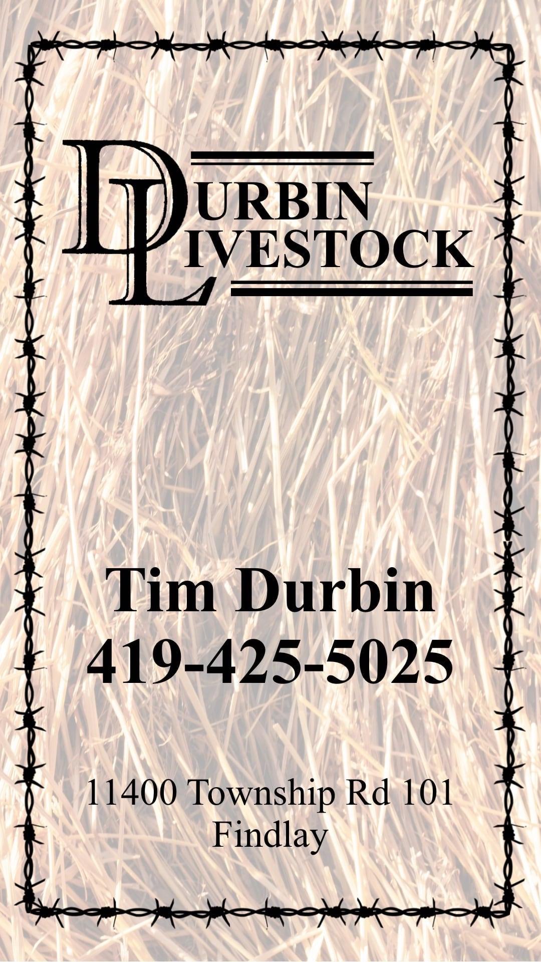 Durbin Livestock Ad