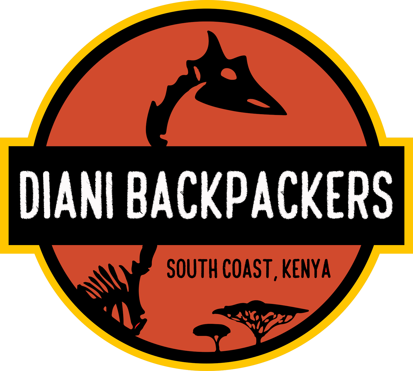 Diani Backpackers logo