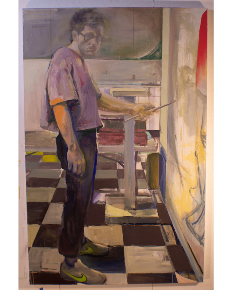 Self Portrait in Trainers by Holden Willard