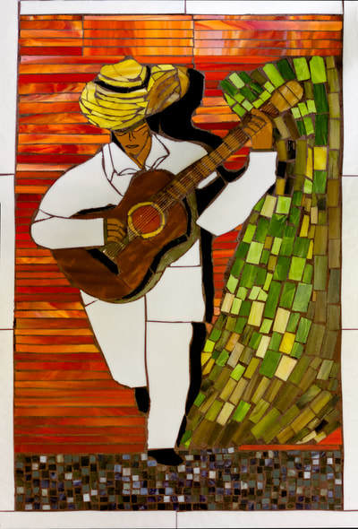 The Guitar Player by Maria Ortiz-Haynes