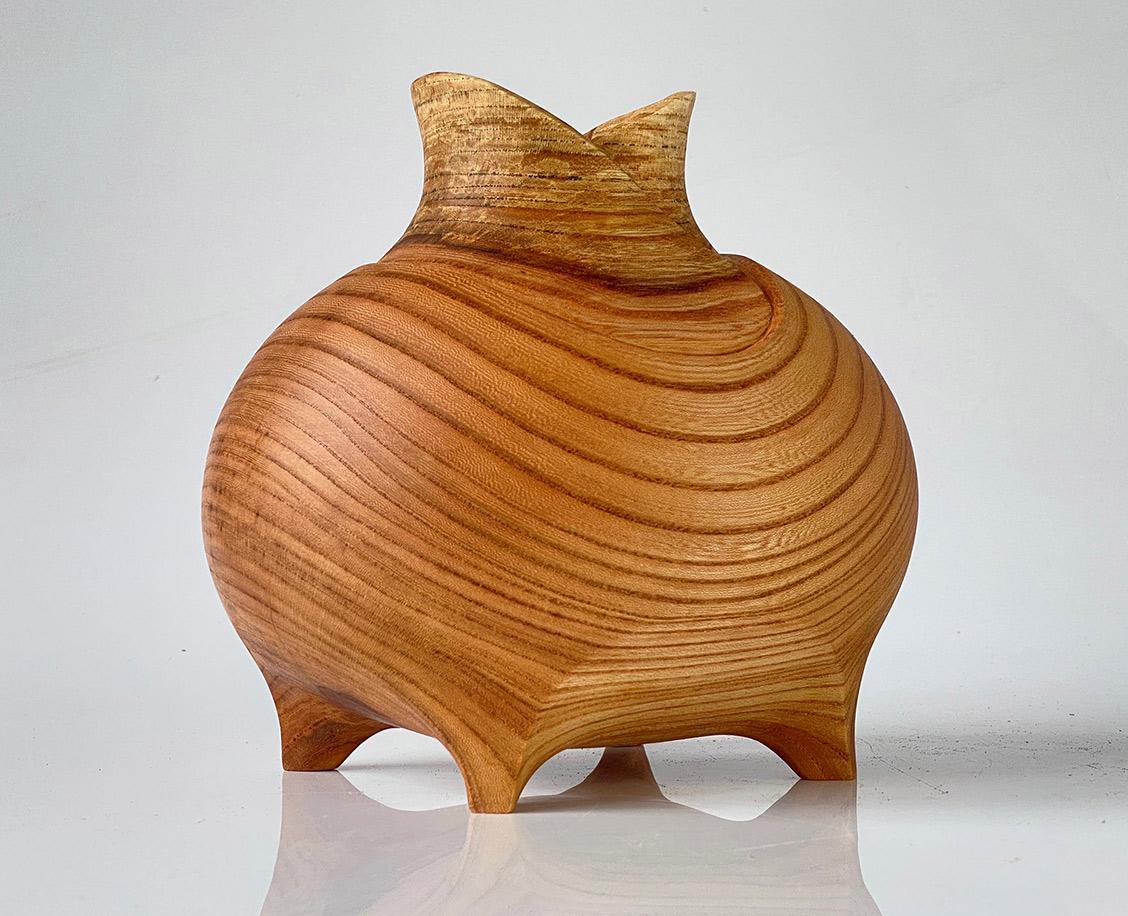 Keyaki Hollow Form by Matthew Shewchuk