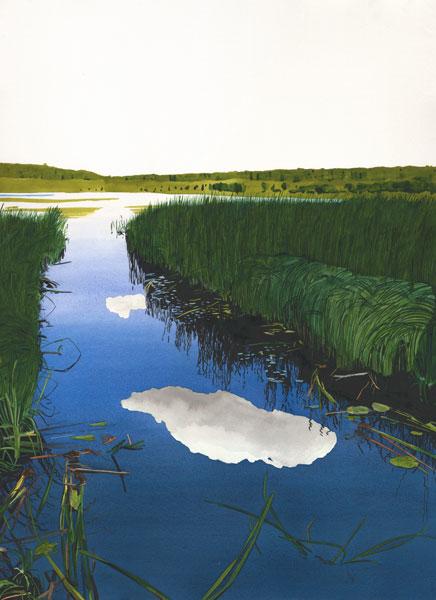 Eva Bartel Vivian Lake, Saskatchewan