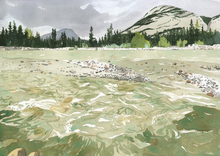 Eva Bartel Snaring River, Jasper