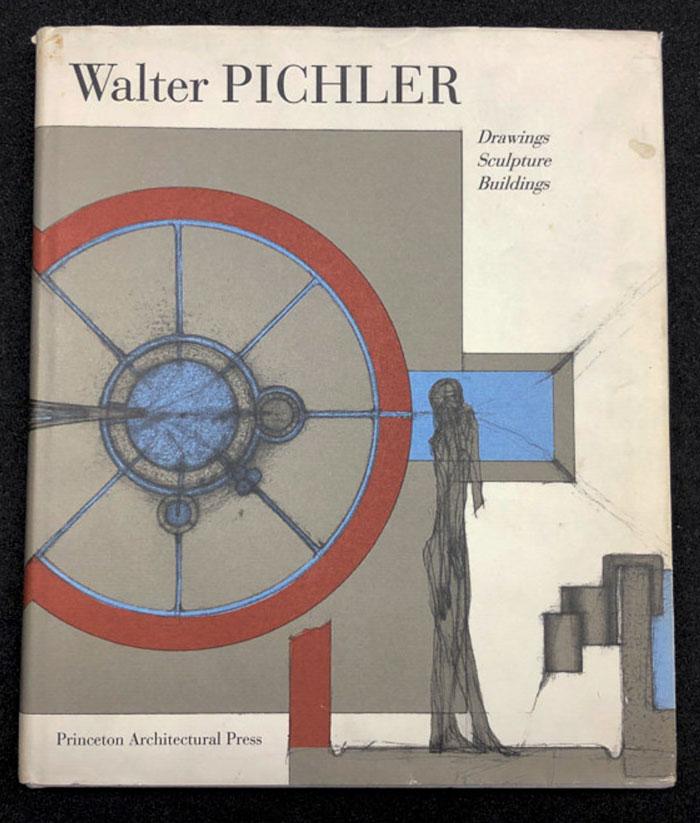 DRAWINGS, SCULPTURE , BUILDINGS by WALTER PICHLER