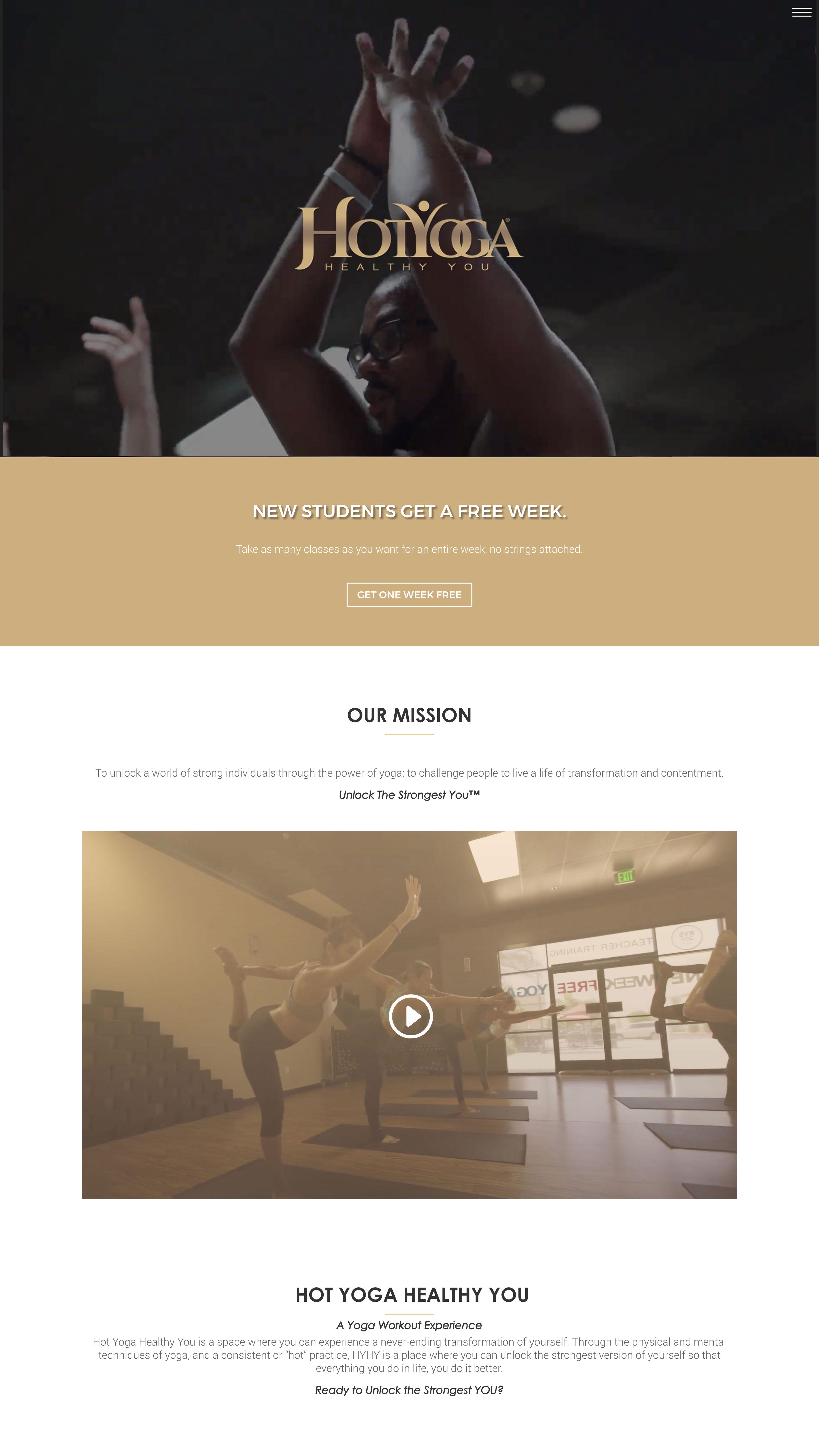 Hot Yoga Healthy You by Post Oak Agency