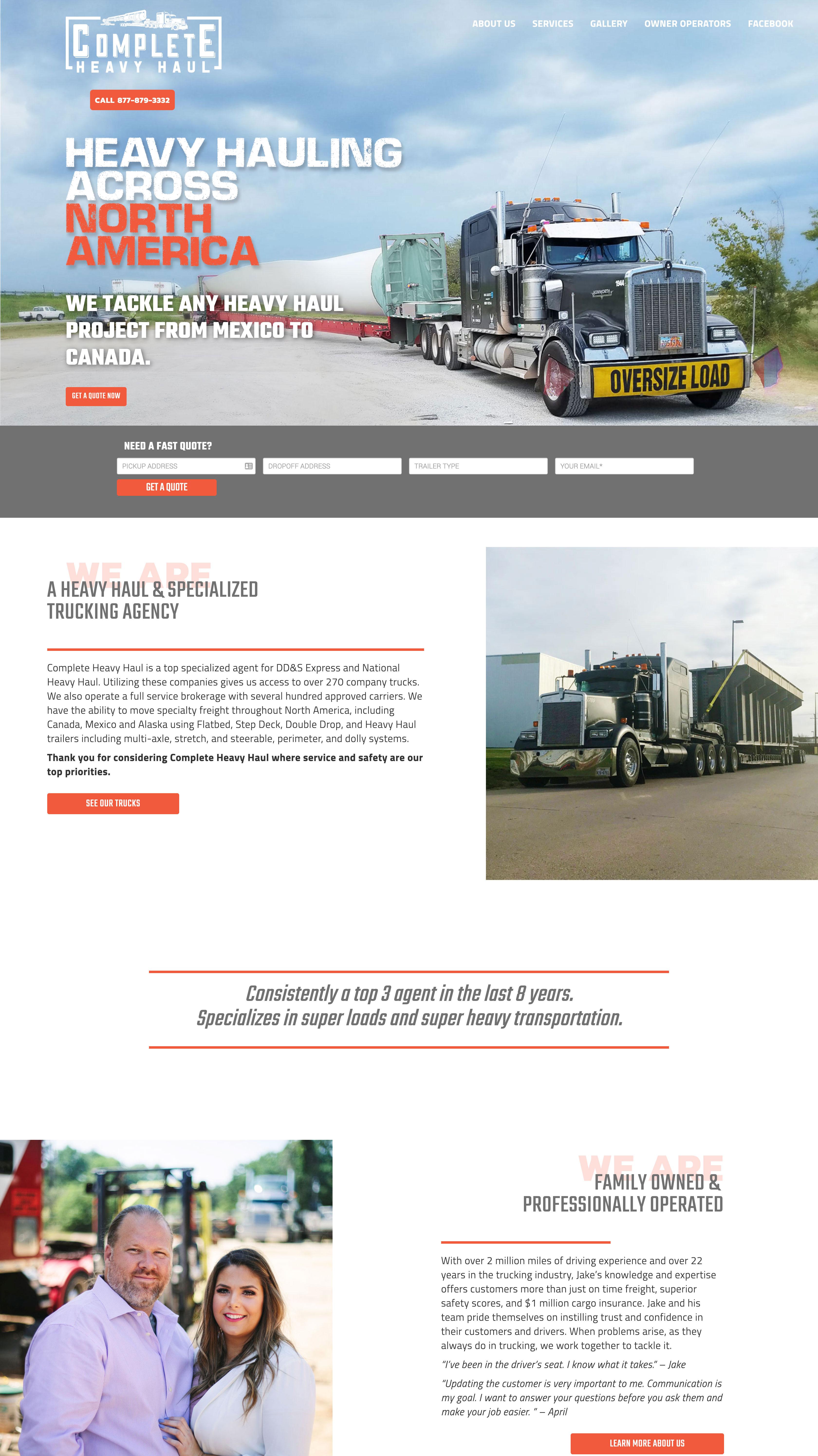 Complete Heavy Haul by Post Oak Agency