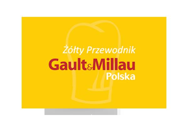 logo żółtego przewodnika gault&millau polska