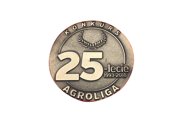 medal za konkurs  na 25 lecie agroligii