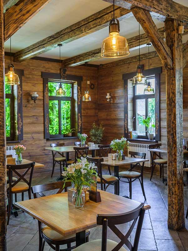 sala restauracyjna w pod sokołem