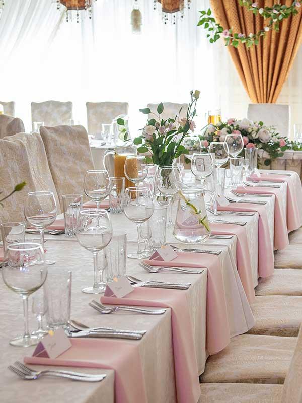 sala weselna w restauracji pod sokołem