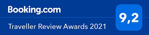 nagroda booking.com traveller review award 2021