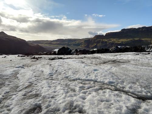 Langjökull Glacier View